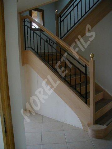 habillage escalier b ton. Black Bedroom Furniture Sets. Home Design Ideas